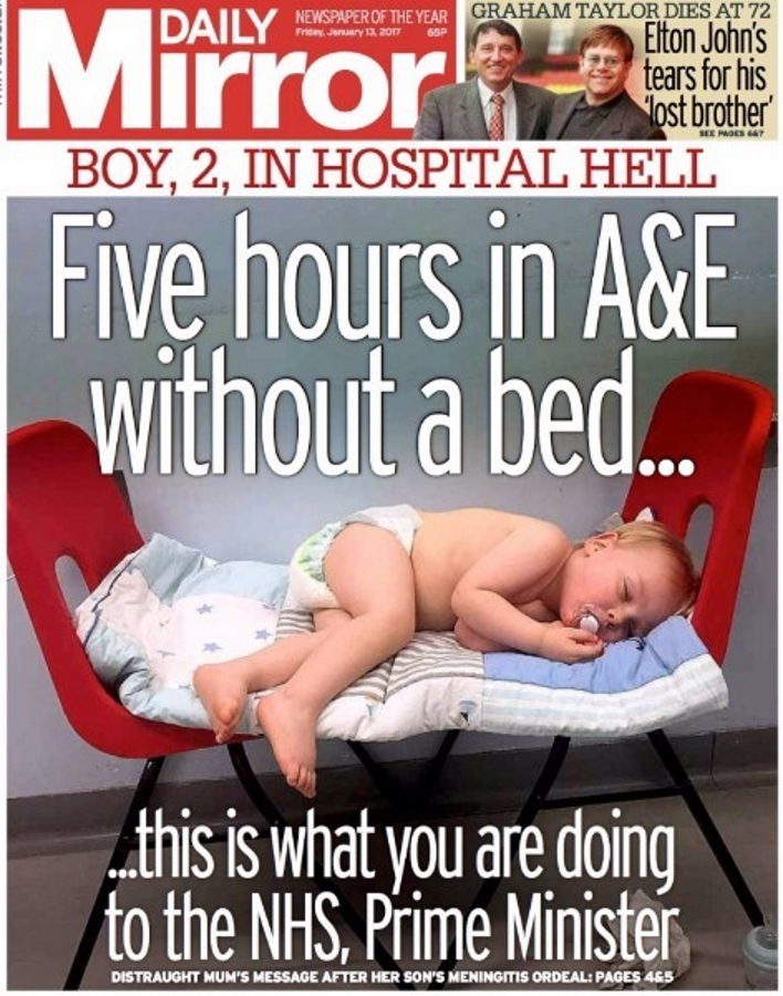 Daily Mirror, Hospital Hell