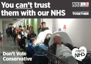 Can't trust them with our nhs