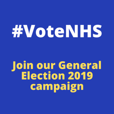 #votenhs join our general election 2019 campaign