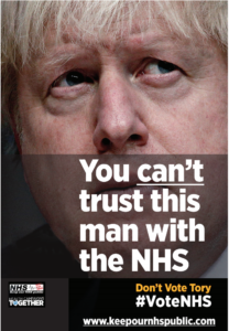You can't trust this man with the NHS Boris Johnson