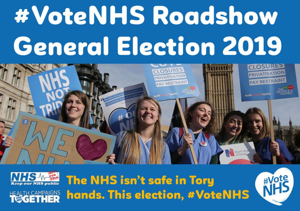 #VoteNHS Roadshow