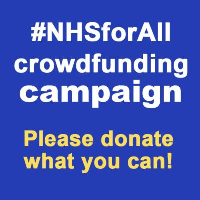 #nhsforall crowdfunding campaign
