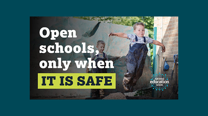 We Support Teachers 5 Tests Before Schools Can Re Open Keep Our Nhs Public